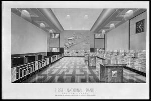Primary view of object titled 'Bank Lobby'.