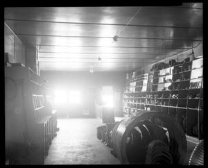 Primary view of object titled 'Interior of Midwest Equipment Company'.