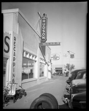 Primary view of object titled 'J. J. Willis Storefront'.