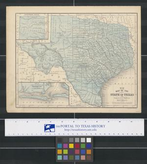 Primary view of object titled '[Maps from Mitchell's School and Family Geography]'.