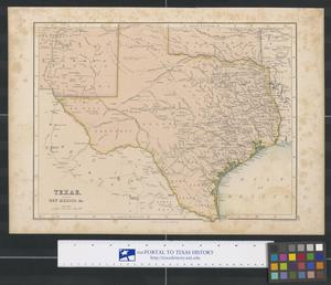 Primary view of object titled 'Texas, part of New Mexico &c.'.