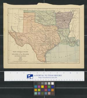 Primary view of object titled 'West Central States and States of the Great Plains, Southern Division.'.