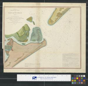 Primary view of object titled 'Preliminary Chart of San Luis Pass, Texas'.