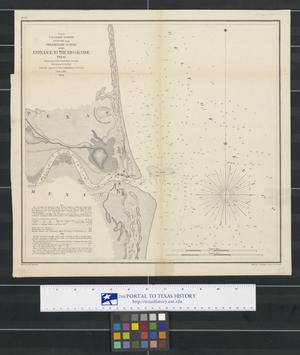 Primary view of object titled 'Preliminary Survey of the Entrance to the Rio Grande, Texas'.