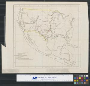 Primary view of object titled '[United States, Mexico, and Central America]'.