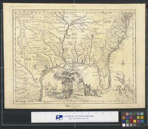 Primary view of object titled 'Carta Geographica Della Florida Nell' America Settentrionale'.