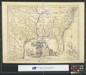 Primary view of Carta Geographica Della Florida Nell' America Settentrionale