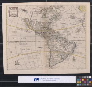 Primary view of Americæ Nova descriptio