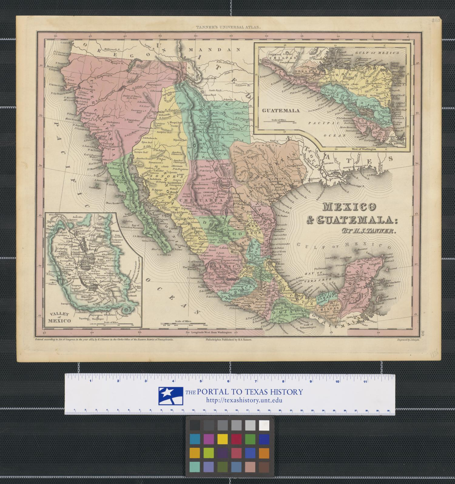Map Of Texas 4 Regions Labeled.Mexico Guatemala The Portal To Texas History