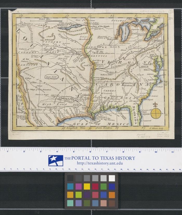 Map Of Louisiana Virginia Carolina Georgia And Florida The