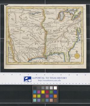 Primary view of [Map of Louisiana, Virginia, Carolina, Georgia, and Florida]