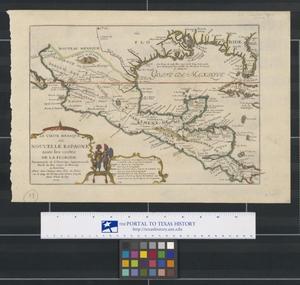 Primary view of Le Vieux Mexique, ou, Nouvelle Espagne avec les costes de la Floride