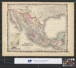 Primary view of object titled 'Johnson's Mexico'.