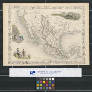 Primary view of object titled 'Mexico, California and Texas.'.