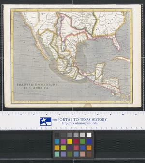 Primary view of object titled 'Spanish Dominions in North America'.