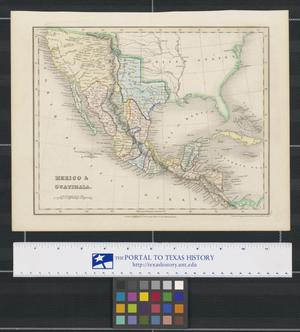 Primary view of object titled 'Mexico & Guatimala.'.