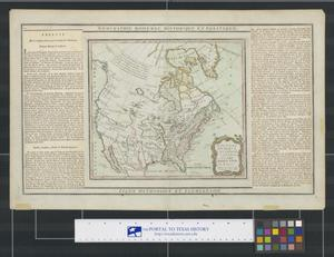 Primary view of Nouveau Mexique, Louisiane, Canada, et les Etats Unis