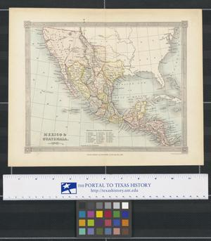 Primary view of object titled 'Mexico & Guatemala'.