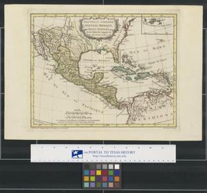 Primary view of Nouvelle Espagne, Nouveau Méxique, Isles Antilles