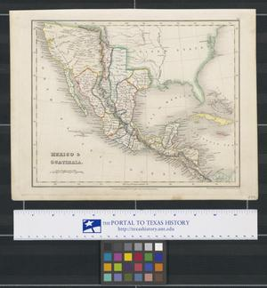 Primary view of object titled 'Mexico & Guatimala'.