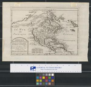 Primary view of Amerique Septentrionale: Divisée en ses principales Possessions et Gds. Peuples