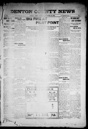 Primary view of object titled 'Denton County News (Denton, Tex.), Vol. 14, No. 19, Ed. 1 Tuesday, December 20, 1904'.