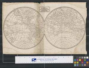 Primary view of The World, with the Tracts & Discoveries of the Latest Navigators.