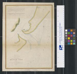Primary view of object titled 'Reconnaissance of Aransas Pass, Texas'.