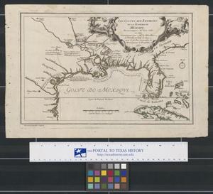 Primary view of Les Costes aux Environs de la Riviere de Misisipi