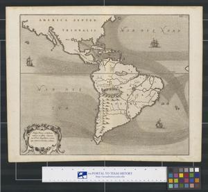 Primary view of Mappa Fluxus et Refluxus rationes in Isthmo America: no inFreto Magellanico, cæterisque Americæ litoribus exhibens.