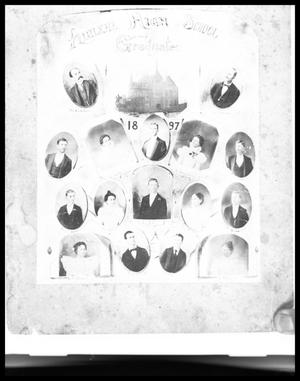 Primary view of object titled 'Abilene High School Graduate Portraits'.