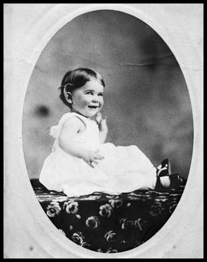 Primary view of object titled 'Portrait of Unknown Child in Dress'.