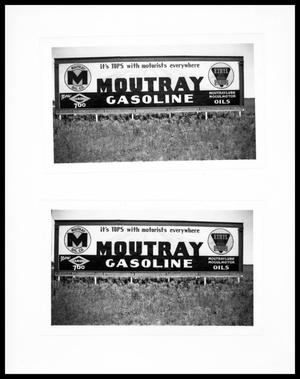 Primary view of object titled 'Moutray Gasoline Billboards'.