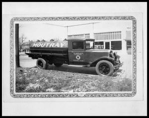 Primary view of object titled 'Moutray Oil Company Truck'.