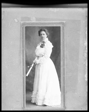 Primary view of object titled 'Portrait of Miss Tommie Clack; Graduate'.