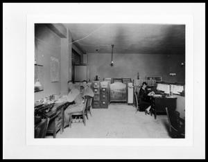 Primary view of object titled 'Interior View of Texas State Highway Department #1'.