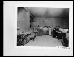 Primary view of object titled 'Interior View of Texas State Highway Department #2'.