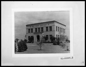 Primary view of object titled 'Exterior View of Texas Highway Dept, District 8 Headquarters'.