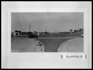 Primary view of object titled 'Looking East, US 83 at N. 2nd, Downtown Abilene'.