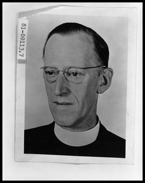 Primary view of object titled 'Portrait of Rev. Walter Williams'.