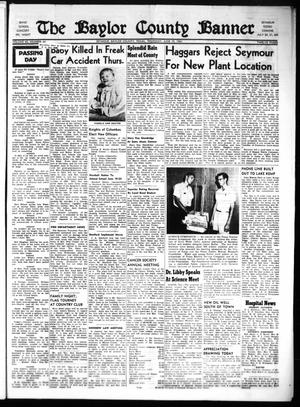 The Baylor County Banner (Seymour, Tex.), Vol. 65, No. 44, Ed. 1 Thursday, June 15, 1961