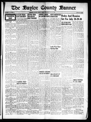 The Baylor County Banner (Seymour, Tex.), Vol. 53, No. 47, Ed. 1 Thursday, July 21, 1949