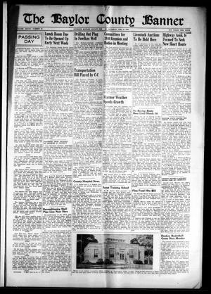 The Baylor County Banner (Seymour, Tex.), Vol. 45, No. 26, Ed. 1 Thursday, February 29, 1940
