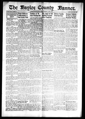 Primary view of object titled 'The Baylor County Banner (Seymour, Tex.), Vol. 45, No. 52, Ed. 1 Thursday, September 5, 1940'.
