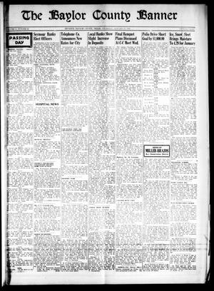 Primary view of object titled 'The Baylor County Banner (Seymour, Tex.), Vol. 53, No. 22, Ed. 1 Thursday, January 27, 1949'.