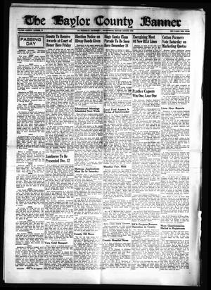 Primary view of object titled 'The Baylor County Banner (Seymour, Tex.), Vol. 46, No. 13, Ed. 1 Thursday, December 5, 1940'.