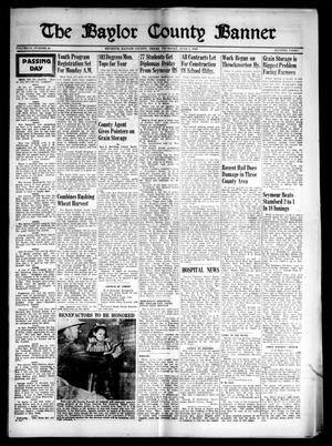 Primary view of object titled 'The Baylor County Banner (Seymour, Tex.), Vol. 53, No. 40, Ed. 1 Thursday, June 2, 1949'.