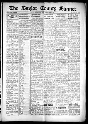 The Baylor County Banner (Seymour, Tex.), Vol. 45, No. 40, Ed. 1 Thursday, June 13, 1940