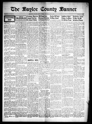 The Baylor County Banner (Seymour, Tex.), Vol. 53, No. 36, Ed. 1 Thursday, May 5, 1949