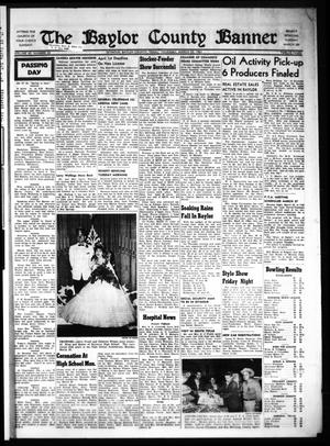 The Baylor County Banner (Seymour, Tex.), Vol. 65, No. 32, Ed. 1 Thursday, March 23, 1961
